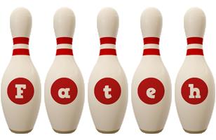 Fateh bowling-pin logo