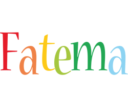 Fatema birthday logo