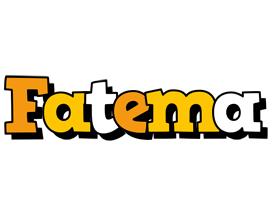 Fatema cartoon logo