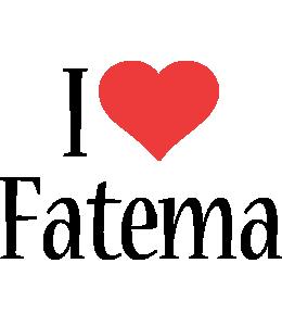 Fatema i-love logo