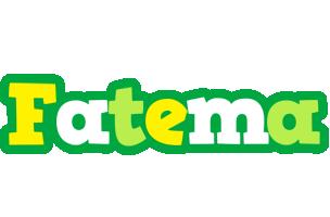 Fatema soccer logo