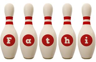 Fathi bowling-pin logo