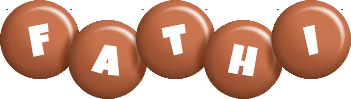 Fathi candy-brown logo