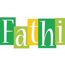 Fathi lemonade logo