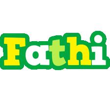 Fathi soccer logo