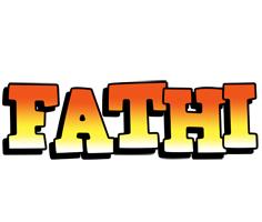 Fathi sunset logo