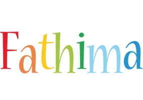 Fathima birthday logo