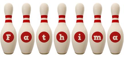 Fathima bowling-pin logo