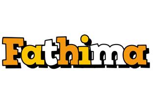 Fathima cartoon logo