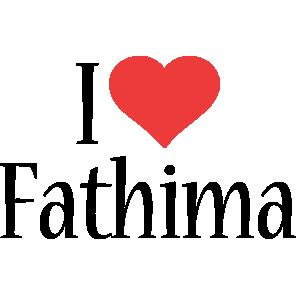 Fathima i-love logo
