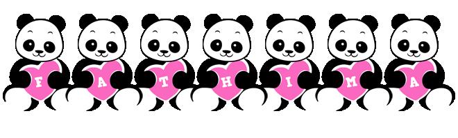 Fathima love-panda logo