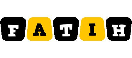 Fatih boots logo
