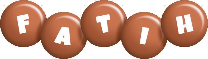 Fatih candy-brown logo