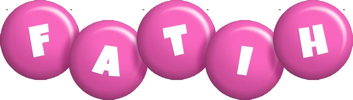 Fatih candy-pink logo