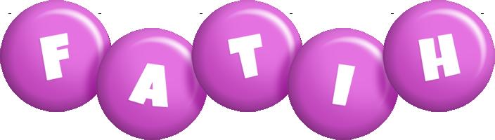 Fatih candy-purple logo