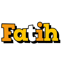 Fatih cartoon logo