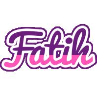 Fatih cheerful logo