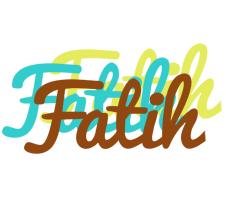 Fatih cupcake logo