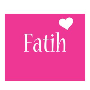 Fatih love-heart logo