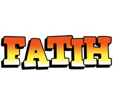 Fatih sunset logo