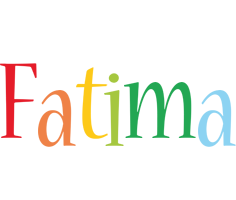Fatima birthday logo