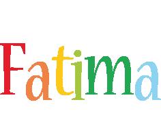 Fatima birthday logo