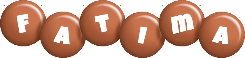 Fatima candy-brown logo
