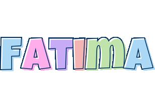 Fatima pastel logo