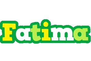 Fatima soccer logo