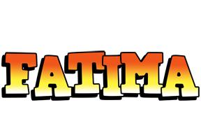 Fatima sunset logo