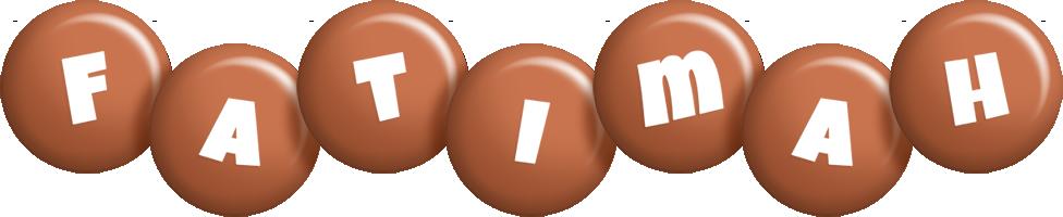 Fatimah candy-brown logo