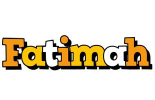 Fatimah cartoon logo
