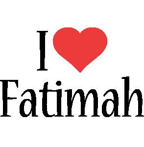 Fatimah i-love logo