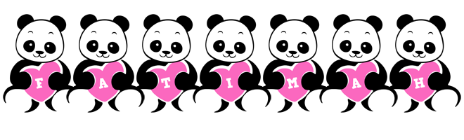 Fatimah love-panda logo