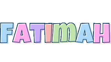 Fatimah pastel logo