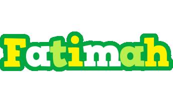 Fatimah soccer logo