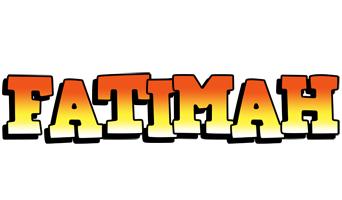 Fatimah sunset logo