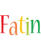 Fatin birthday logo