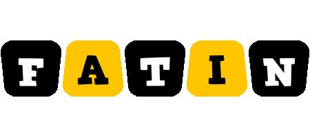 Fatin boots logo
