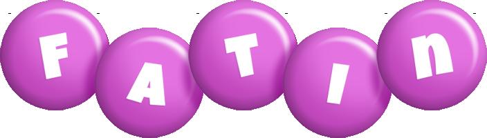 Fatin candy-purple logo
