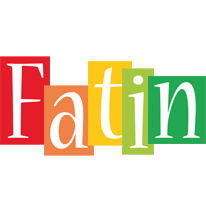 Fatin colors logo