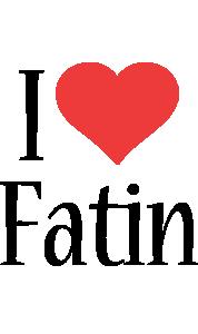 Fatin i-love logo