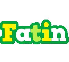 Fatin soccer logo