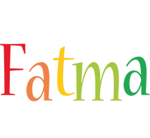 Fatma birthday logo