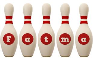 Fatma bowling-pin logo