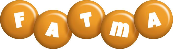Fatma candy-orange logo