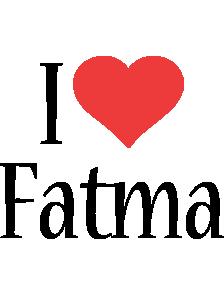 Fatma i-love logo