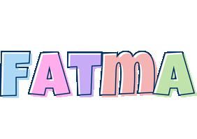 Fatma pastel logo