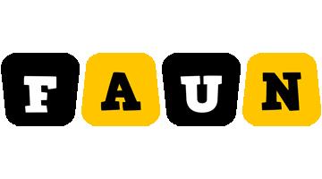 Faun boots logo