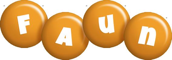 Faun candy-orange logo